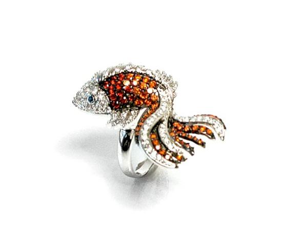 kreative luxus ringe designer originell dunkel elegant chamäleon