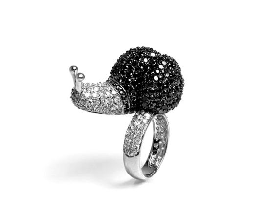 kreative luxus ringe designer originell dunkel elegant natur