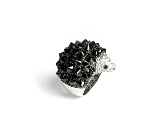 kreative luxus ringe designer originell dunkel igel