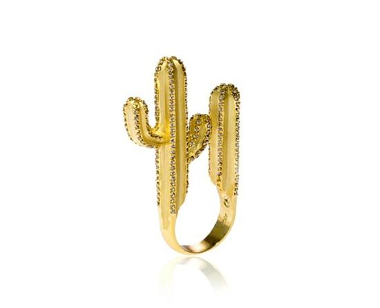 kreative luxus ringe designer originell dunkel kaktus