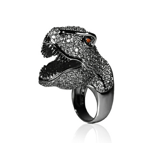 kreative luxus ringe designer originell dunkel zirkon