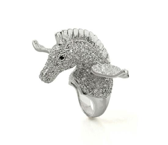 kreative luxus ringe designer originell pegasus