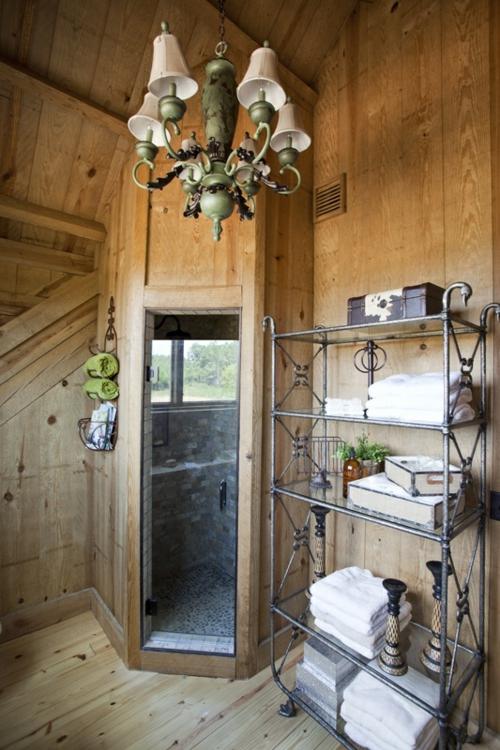 35 rustikale badezimmer design ideen lndliches scheunen outfit - Rustikale Badezimmermoebel