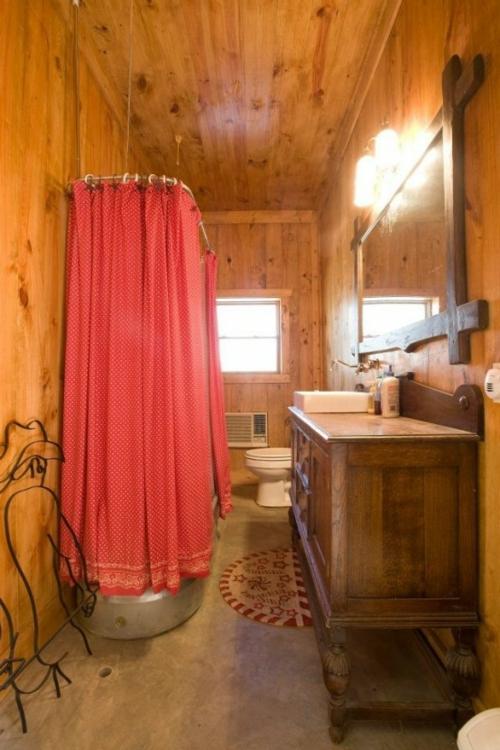ländliche badezimmer design ideen rustikal holz feminine ambiente