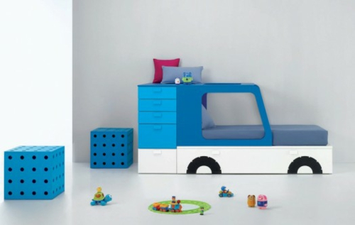 Lebhafte coole Babyzimmer Ideen 13 verspielte