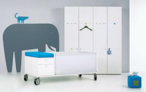 lebhafte coole babyzimmer ideen 13 verspielte. Black Bedroom Furniture Sets. Home Design Ideas