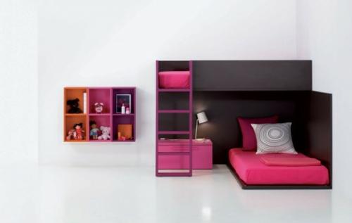 lebhafte coole babyzimmer ideen 13 verspielte farbenfrohe designs. Black Bedroom Furniture Sets. Home Design Ideas