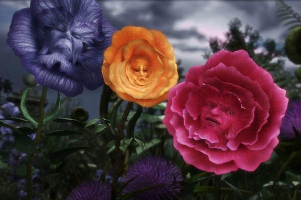luxus schmuck sammlung alice wunderland rosen szene