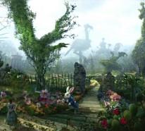 Luxus Schmuck Sammlung, von Alice im Wunderland inspiriert