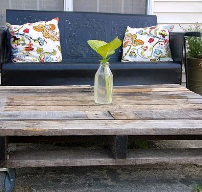 Möbel aus holzpaletten  Möbel aus Holz Paletten - 46 einzigartige Tipps für Sie