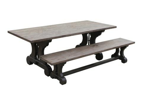 10 Möbel Designs aus antikem Holz - rustikaler Stil