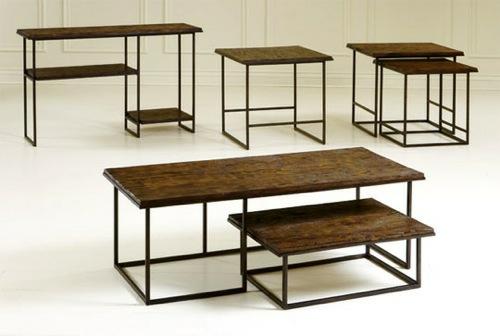möbel designs aus antikem holz tisch broyhill