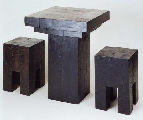 möbel designs aus wiedergewonnen holz tisch hocher jay sanders