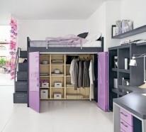 Möbel Designs im Dachgeschoss – 10 kluge und nützliche Ideen