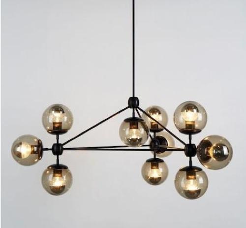 möbel designs im dachgeschoss lampen hängen modular