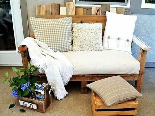Möbel aus Holz Paletten - 46 einzigartige Tipps für Sie