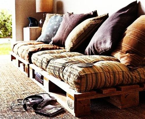 möbel holzpaletten sofa kissen auflagen