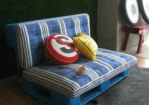 möbel holzpaletten sofa klein-kissen bezogen sitzkissen