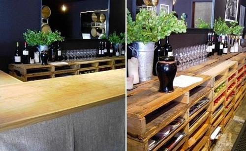 Kücheninsel selber bauen paletten  Möbel aus Holz Paletten - 46 einzigartige Tipps für Sie
