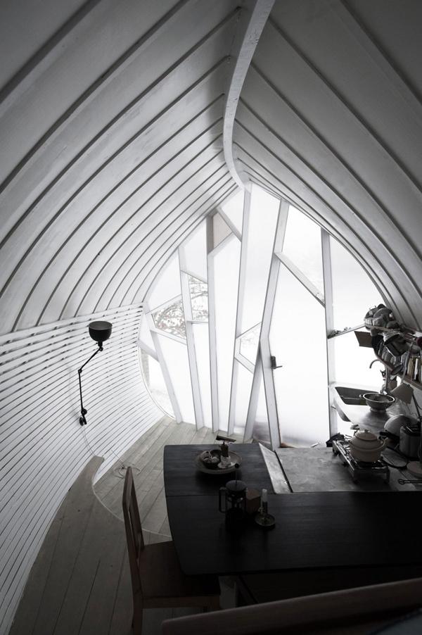 märchenhaftes haus design attraktive architektur essecke