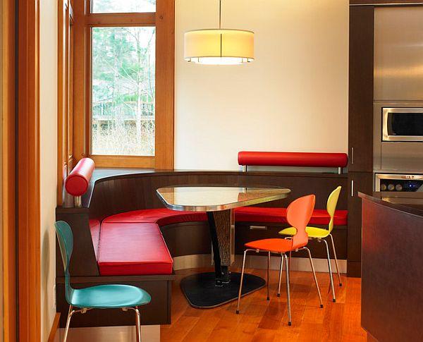 massive esstisch designs glas tischplatte küchenbereich