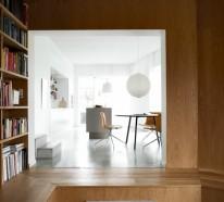 Minimalistisch gestaltete Sommer Residenz bezaubert mit der Schlichtheit des Innendesigns
