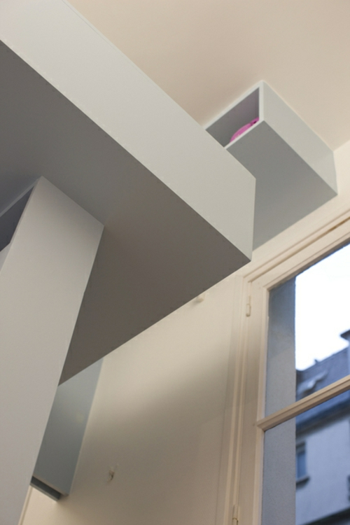 Minimalistisches kinderzimmer design von h2o architekten for Zimmer design