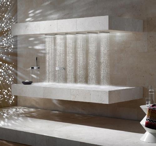 10 moderne coole Dusche Designs für ein schöneres Badezimmer