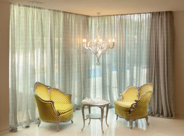 Moderne Einrichtung und Interior Design im Hollywood-Stil ...