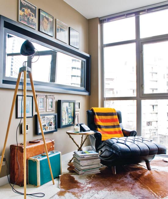 moderne eklektische wohnung neu gestalten home office lernen