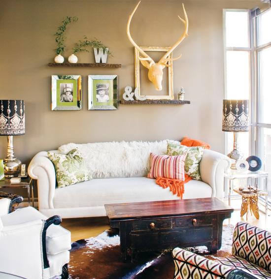 moderne eklektische wohnung neugestaltung vom kleinen raum. Black Bedroom Furniture Sets. Home Design Ideas