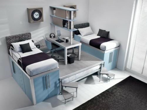 7 moderne Hochbett Designs für Jungen von Timidey Spa