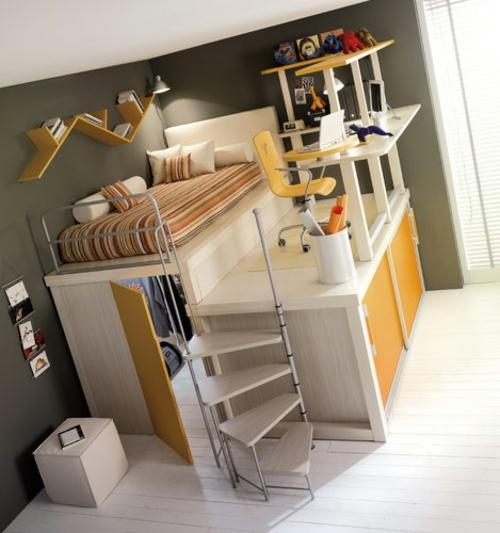 7 moderne hochbett designs für jungen von timidey spa, Schlafzimmer