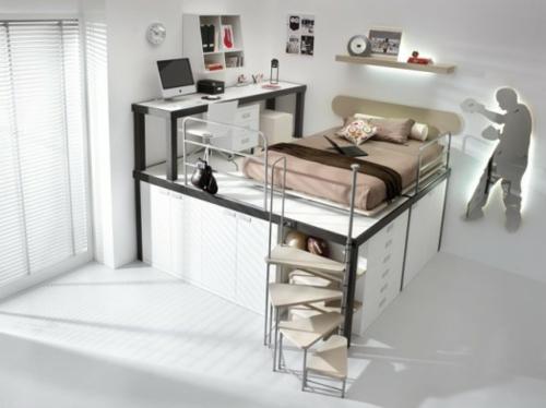 Hochbett design  7 moderne Hochbett Designs für Jungen von Timidey Spa