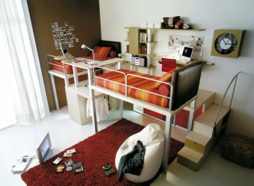 7 moderne hochbett designs f r jungen von timidey spa for Coole zimmereinrichtung