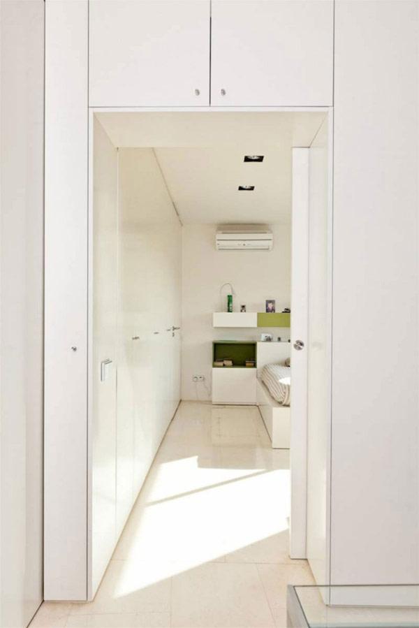 moderne holz residenz spanien schlafzimmer durchgang