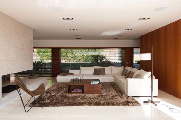 moderne attraktive residenz spanien wohnbereich ecksofa