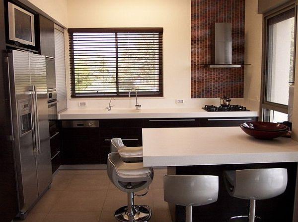 Moderne kleine k chen designs das beste daraus herauszuholen - Elegant pictures of small bar table for kitchen decoration ideas ...