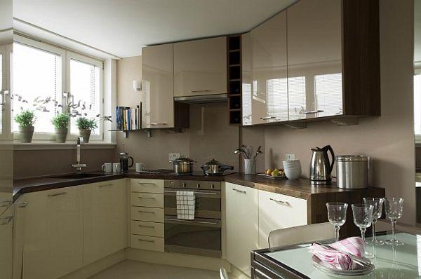 Attraktiv Moderne Kleine Küchen Designs Traditionell Esszimmer