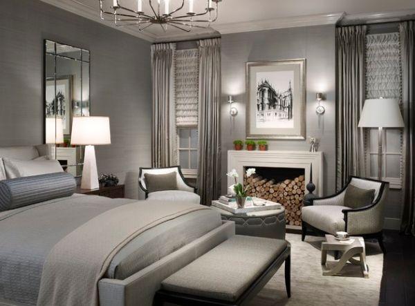 Moderne Stehlampe Designs Idee Schlafzimmer Grau Farbe 55 Moderne Stehlampe  Designs Bei Der Inneneinrichtung Schaffen Leuchtendes Ambiente ...