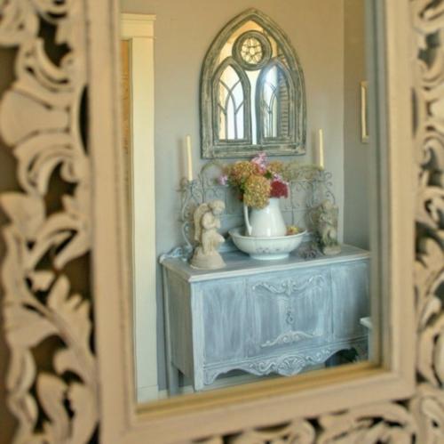 Vintage frischer Zimmer Garten gießkanne wandspiegel