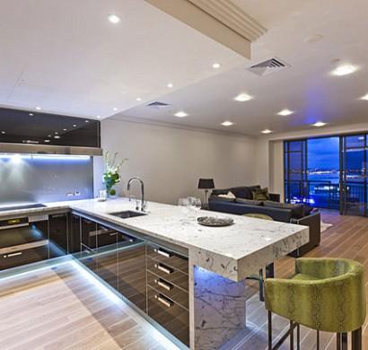 Neon Beleuchtung im Küchenbereich - 12 originelle Ideen für Ihre Küche
