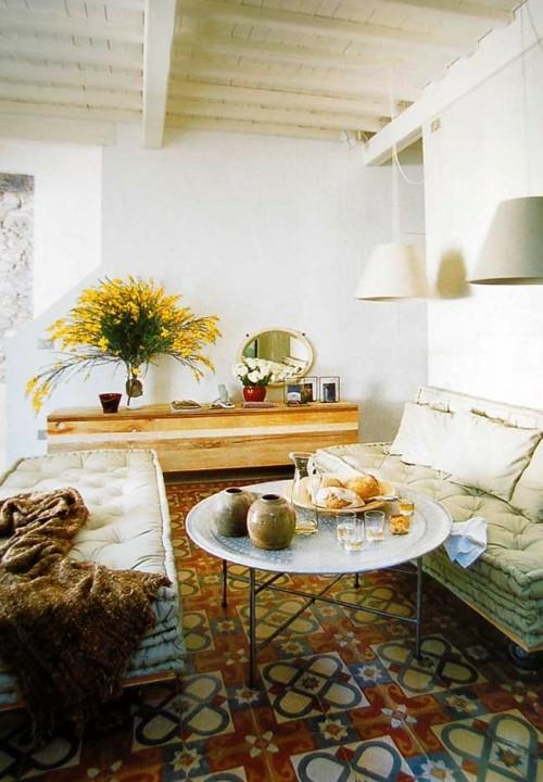 Orientalische Tische im Interior Design - marokkanischer Stil