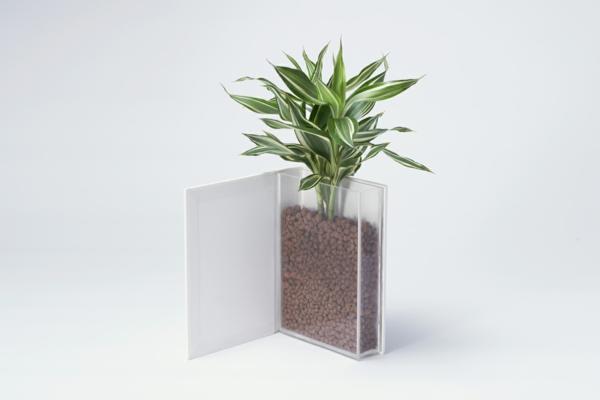 blumen vase zwei elemente designer kollektion alma