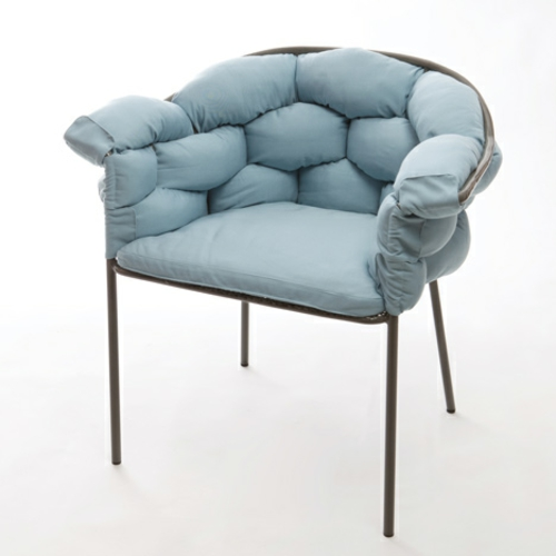origineller outdoor stuhl metall kissen rahmen weich