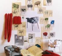 Origineller outdoor Stuhl Serpentine von Eléonore Nalet
