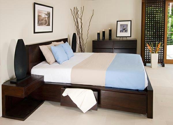 Platform Queen Bed Houston