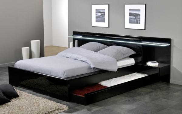 Plattform Betten Mit F 228 Chern Ausgestattet Aufbewahrung Ideen