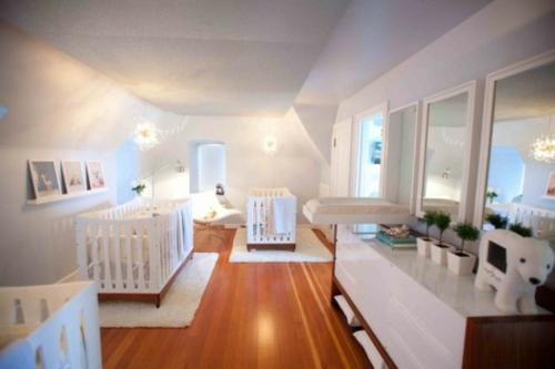 Fabelhafte, Ruhige Moderne Kinderzimmer Designs Für Drillinge ...