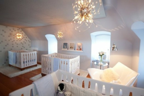 fabelhafte, ruhige moderne kinderzimmer designs für drillinge - Kinderzimmer Einrichtung Mobel Auswahlen